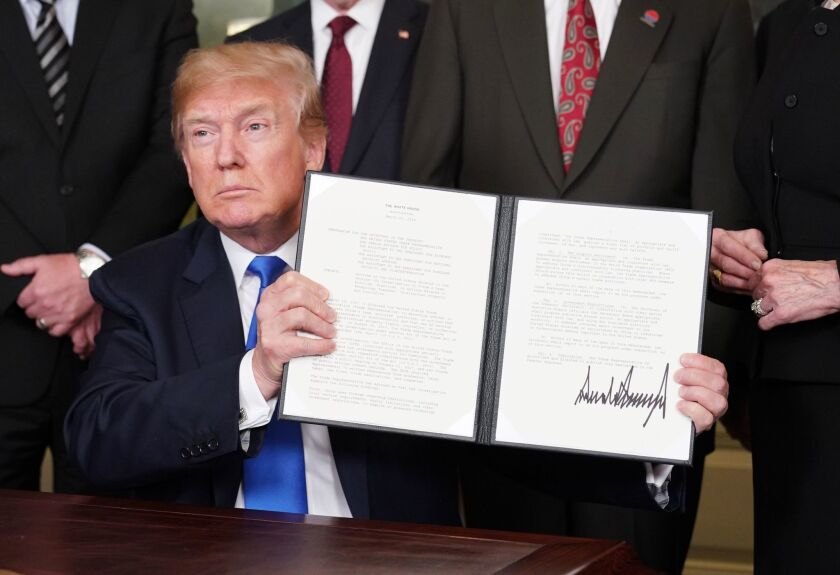 President Trump signed a first round of trade sanctions against China in March. Additional tariffs are to take effect in September. The president says China pays these taxes. In fact, American consumers are being hit with the tab.