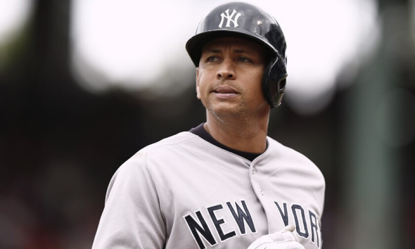 New York Yankees third baseman Alex Rodriguez has been issued a season-long suspension for violating Major League Baseball's drug policy.