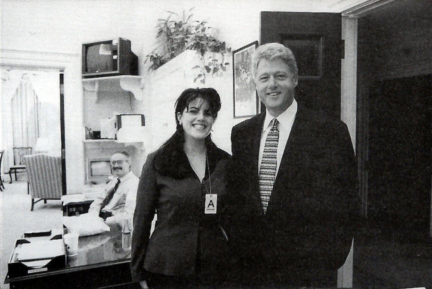 Bill Clinton and Monica Lewinsky  (and Gennifer Flowers and Paula Jones)