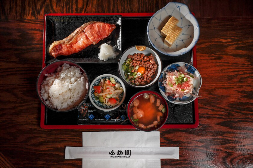 Where to eat a traditional Japanese breakfast in Los Angeles