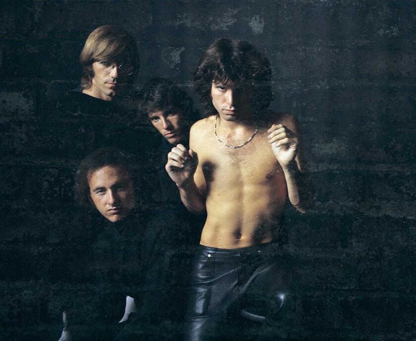 The Doors in 1967: Ray Manzarek, clockwise from top left, John Densmore, Jim Morrison and Robby Krieger.