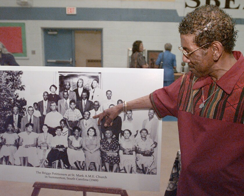 As a young boy, Harry Briggs Jr. was at the center of a lawsuit that culminated with the U.S. Supreme Court outlawing segregated public schools.