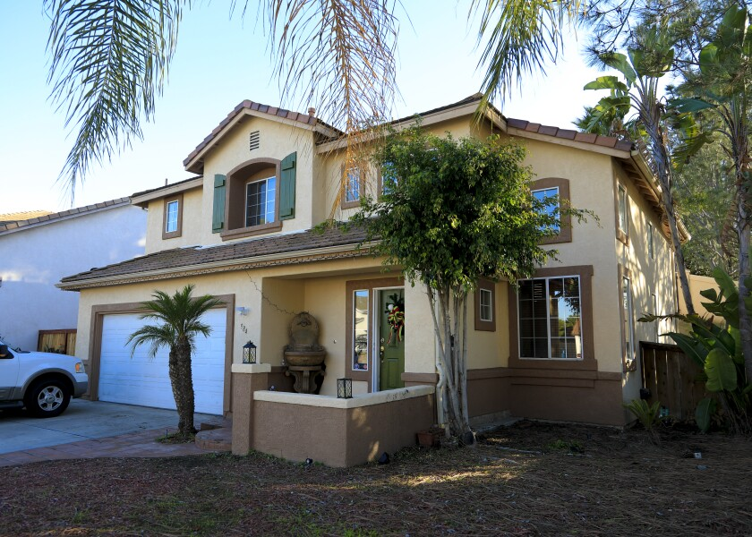 San Diego County's median home price was $587,000 in February 2020.