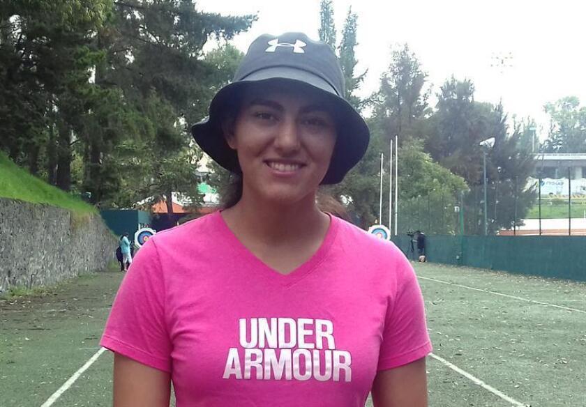 Alejandra Valencia, integrante de la selección mexicana de tiro con arco. EFE/Archivo