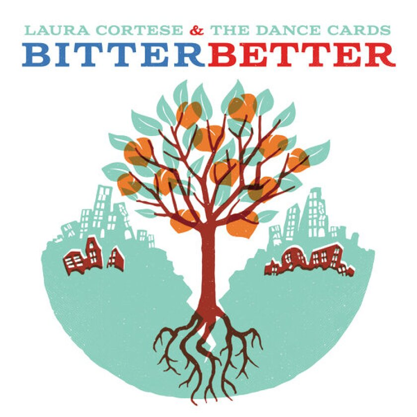 """This cover image released by Red House Records shows """"Bitter Better"""" by Laura Cortese & The Dance Cards. (Red House Records via AP)"""