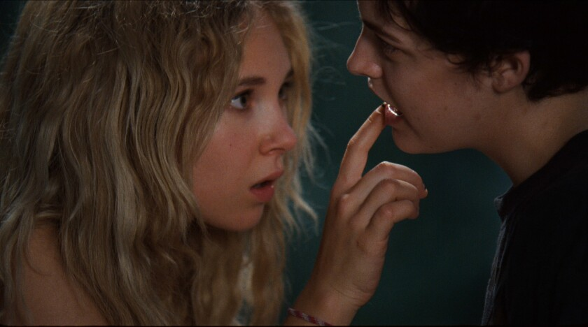 """Juno Temple, left, and Riley Keough in """"Jack & Diane."""""""
