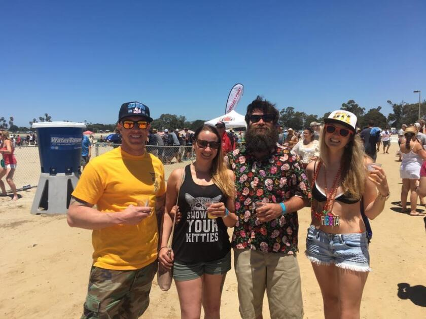 OTL Beerfest: Old Mission Beach Athletic Club kicks off the Over-the-Line (OTL) Tournament at OTL Beerfest, noon to 4 p.m., Saturday, May 19, 2018. Sip craft beer and enjoy food truck fare. Tickets $35 at ombac.org and OTL Tournament first rounds will host 120 teams in a double elimination format 7 a.m. to 6 p.m. May 19 at Mariner's Point, with winning teams returning 7 a.m. to 3 p.m. May 20. Divisions: Men's Pro, Men's Open, Men's Masters and Women's Open. Entry fee $120 per team. The two-day event advances the 65th annual World Championship Over the Line Tournament, July 14-15 and July 21-22 at Fiesta Island.