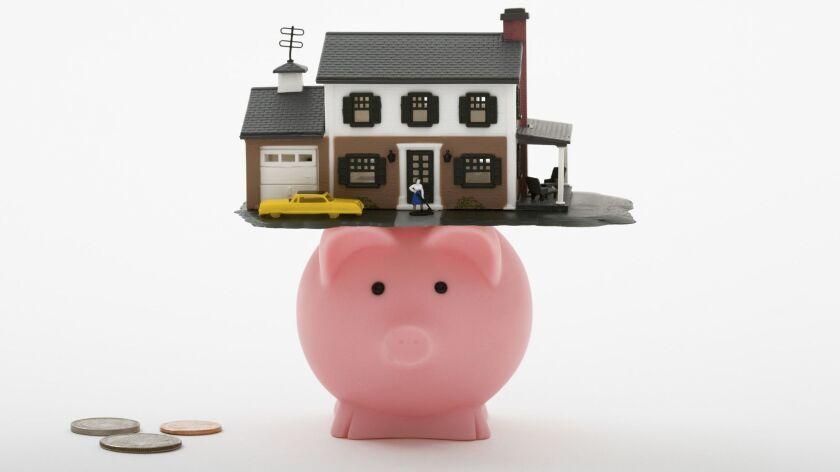 House as piggy bank