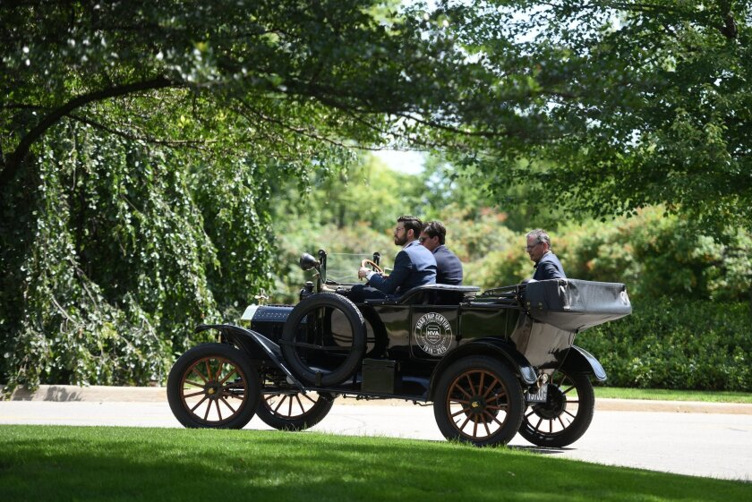 Re-creating Edsel Ford's 1915 road trip