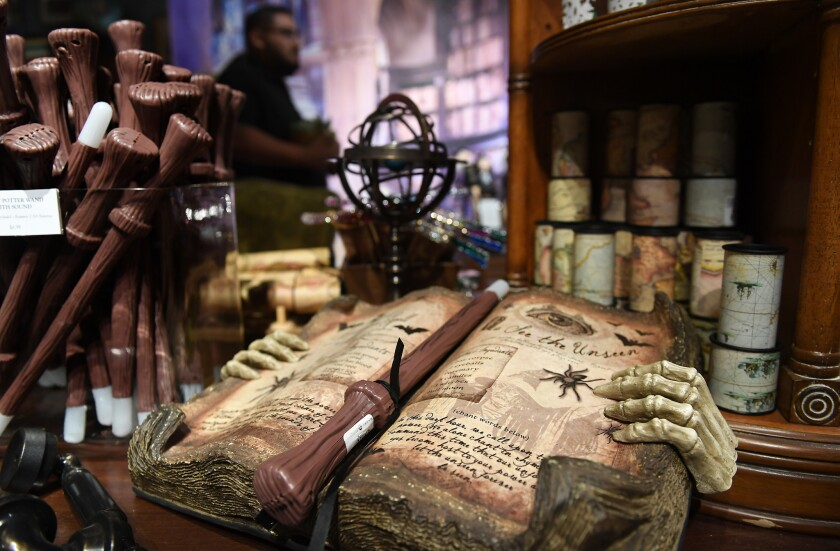 It S Halloween And Harry Potter Is Hosting At This Gardening Hot Spot Los Angeles Times