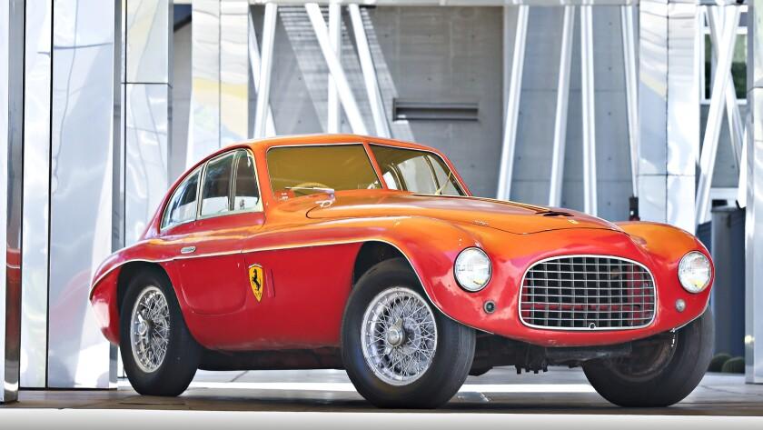 Collector Scott Gauthier decided against restoring this vintage 1950 Ferrari 166 MM Berlinetta race car.