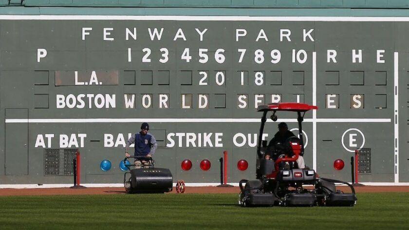 Baseball World Series, Boston, USA - 22 Oct 2018