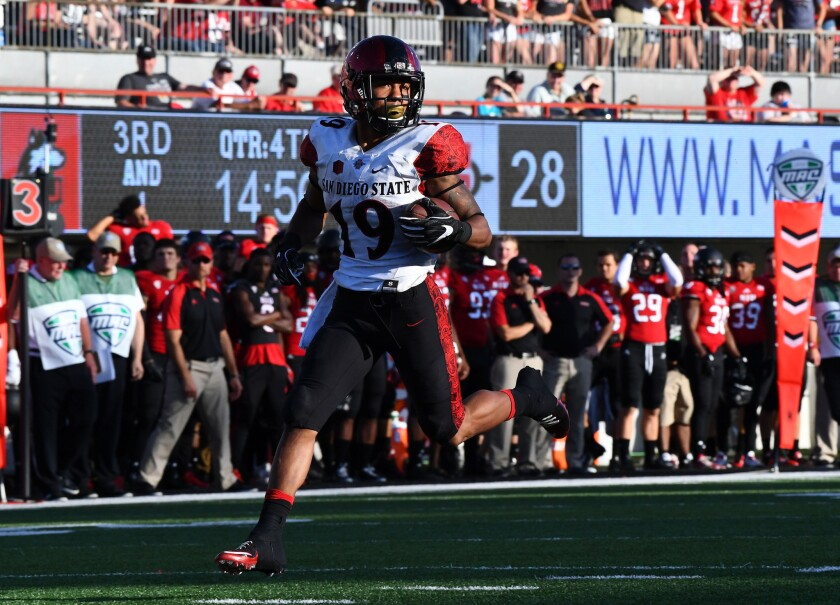 NCAA Football: San Diego State at Northern Illinois