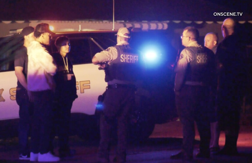 An investigation is underway after six people were shot at a large house party in Woodcrest early Saturday morning.