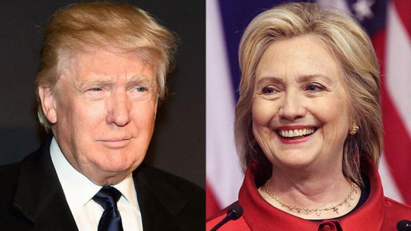 Donald Trump y Hillary Clinton tratan el tema migratorio de diferentes formas.