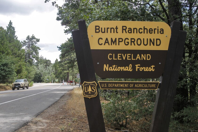 Burnt Rancheria Campground