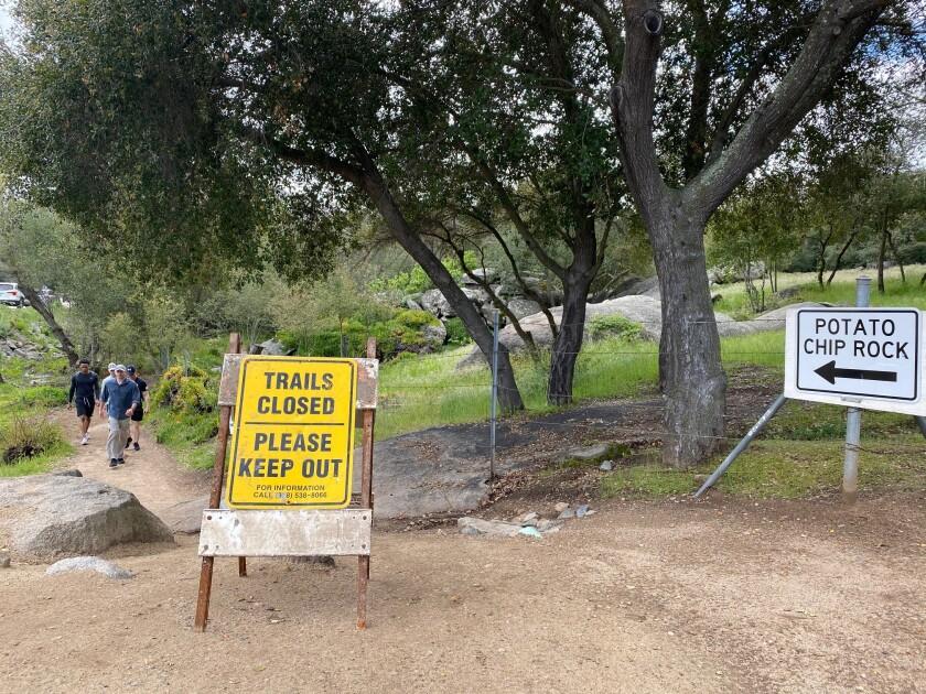 Mt Woodson trails closed.jpg