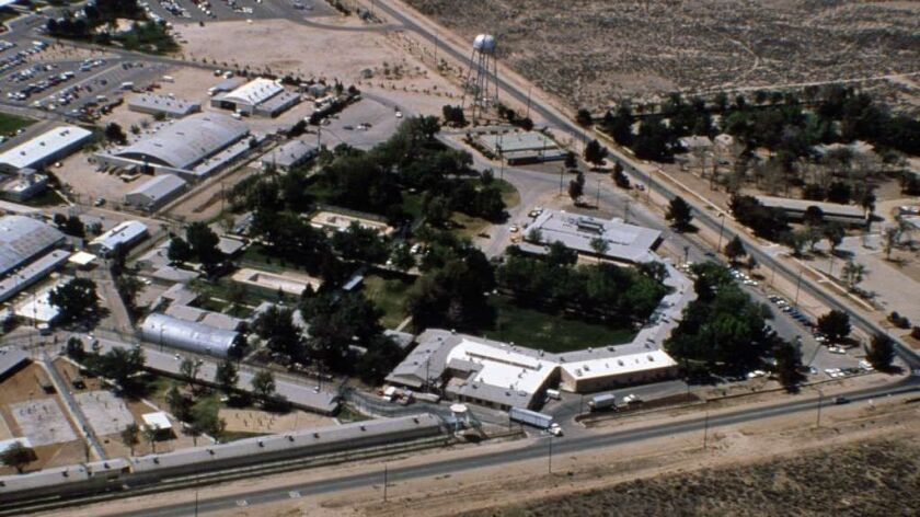 A portion of the Mira Loma jail site in Lancaster in 1996.