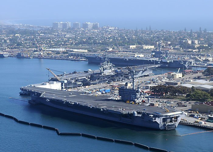 Two more Navy aircraft carriers to bring economic boost of almost $2 billion to San Diego in 2020