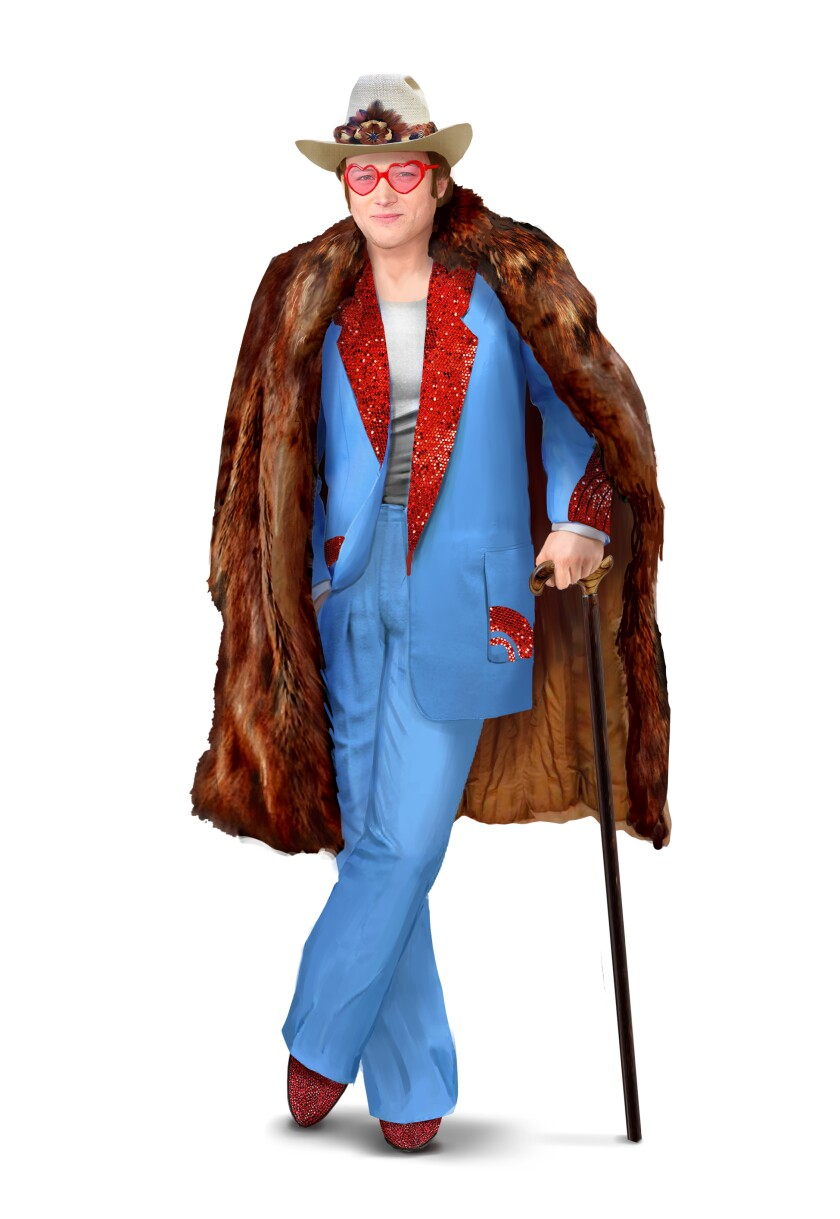 Costume design by Julian Day for  'Rocketman'