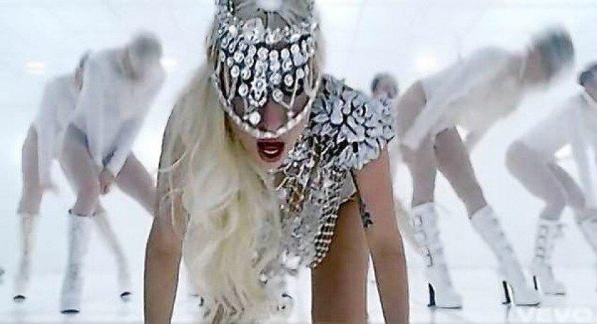 Lady Gaga created buzz on last year's VMAs.
