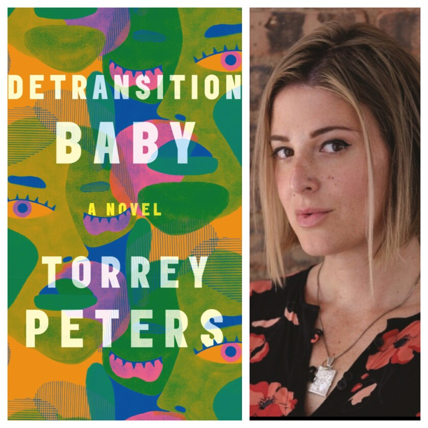 """""""Detransition, Baby"""" by Torrey Peters."""