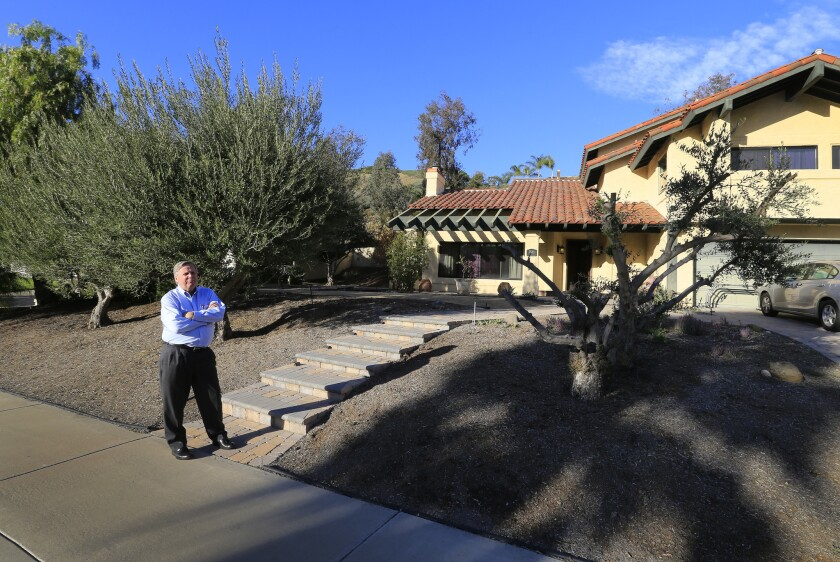 San Juan Capistrano rate payer Jim Reardon is part of the water rate structure lawsuit against the city's water agency.