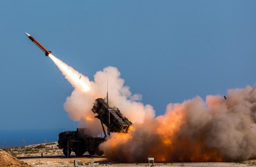 U.S. Patriot air defense system