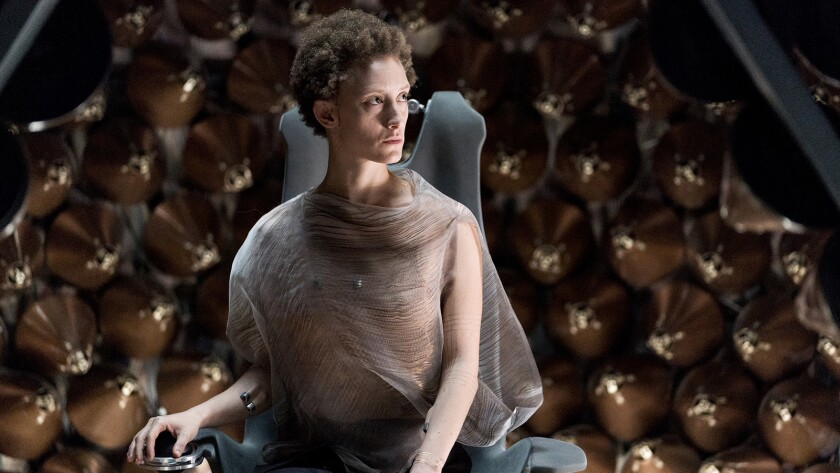 "Maya Eshet in ""Nightflyers"" on Syfy."