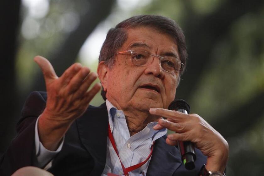 En la imagen, el escritor nicaragüense y exvicepresidente Sergio Ramírez. EFE/Archivo