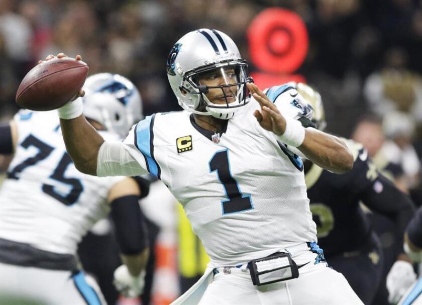 Newton corrió para 58 yardas y un touchdown, y la defensiva entregó una actuación dominante para que los Panthers fuesen el mejor equipo en el campo. EFE/Archivo
