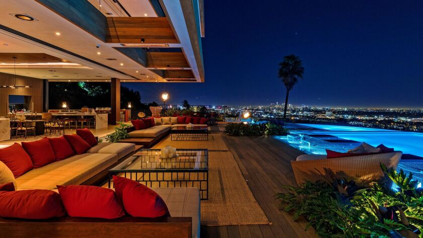 Lenny Kravitz served as creative director for a newly built mansion that has come to market in Holly