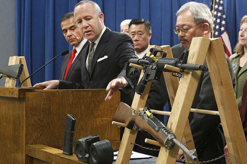 Governor, Californians split on gun legislation