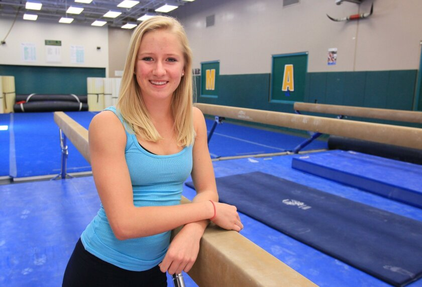 La Costa Canyon senior Natalie Jaynes finished second in last year's San Diego Section optional all-around competition.