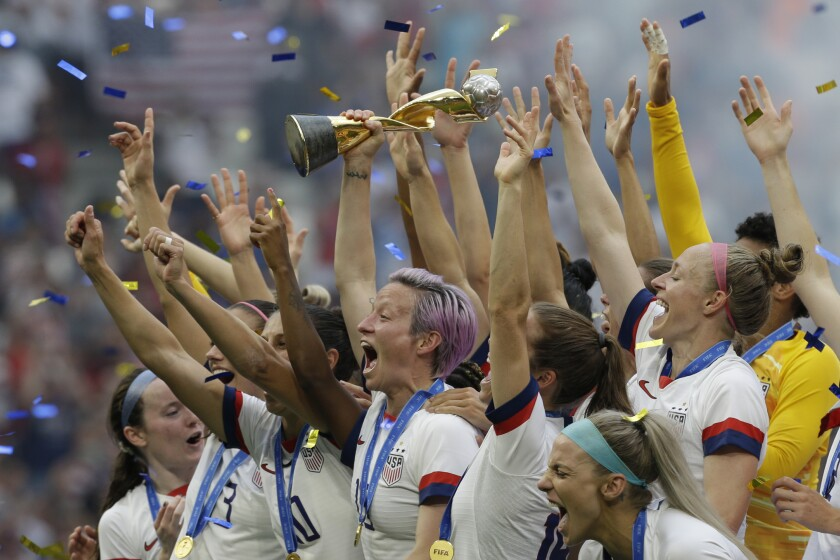 The U.S. women's national soccer team hopes to earn a spot at the Tokyo Summer Games.