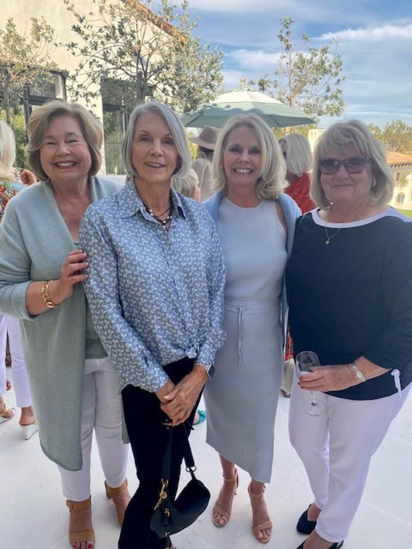Maureen McMahon, Paula Bates, Shari Cirkus and Kathy Yash