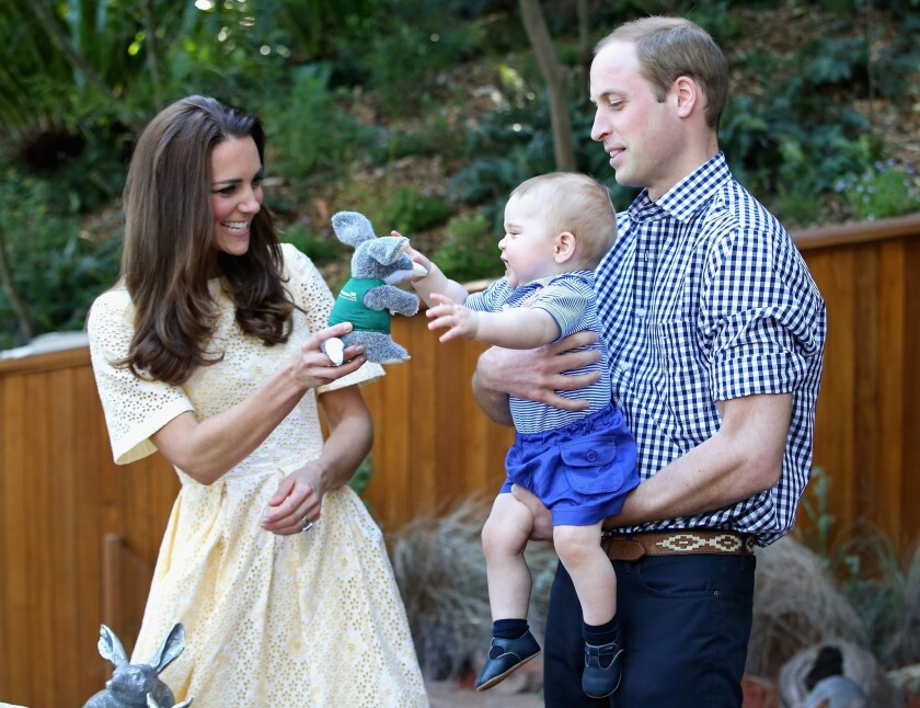 The Duke And Duchess Of Cambridge Tour Australia And New Zealand - Day 14
