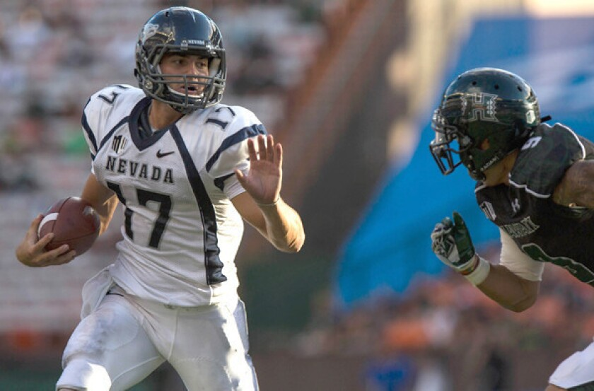 Nevada not buying the odds for Saturday's UCLA opener