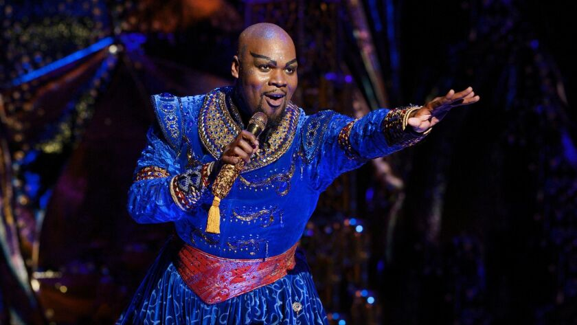Disney Theatrical Productions under the direction of Thomas Schumacher presents Aladdin, music by Al