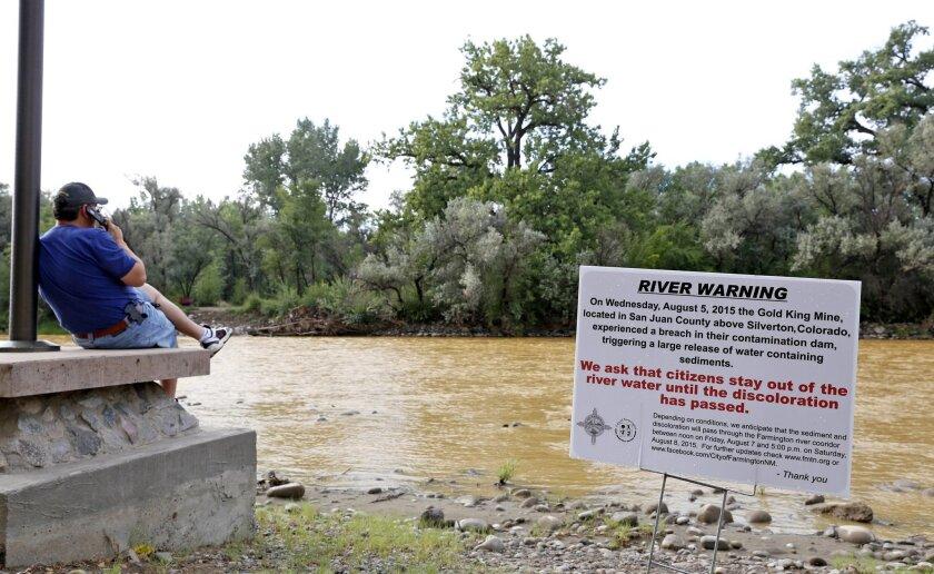 Animas River spill reaches New Mexico