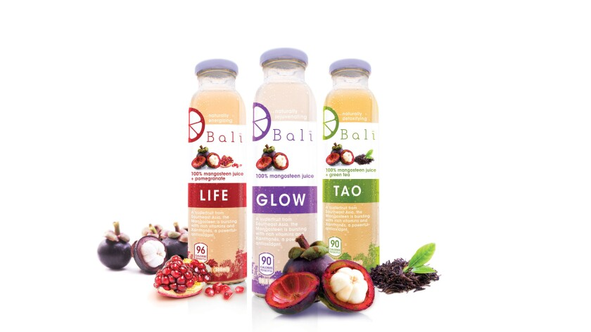 Mangosteen is at the heart of exotic juices from Bali Juice. Credit: Bali Juice