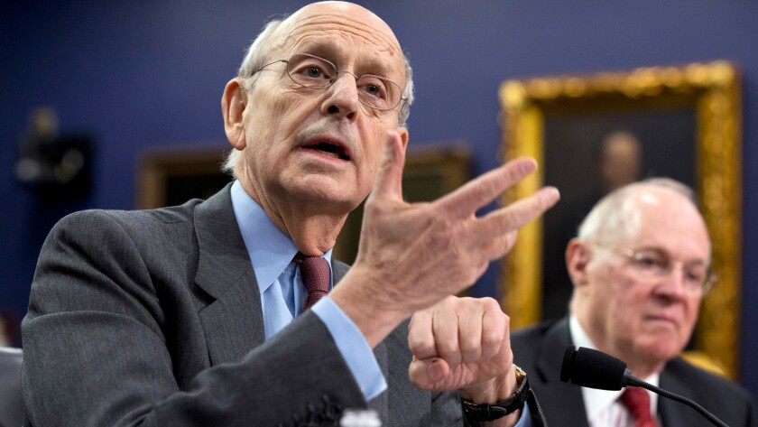 Stephen Breyer and Anthony Kennedy