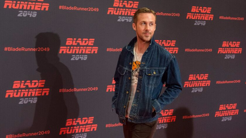 Hey girl, Ryan Gosling will promo his new movie Blade Runner 2049 on Saturday of Comic-Con.