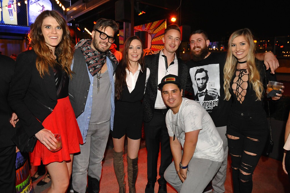 Spencer Couture transformed OMNIA San Diego's rooftop with a pop art party on Thursday, Nov. 17, 2016.
