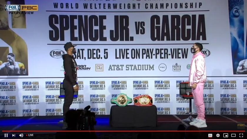 Spence Jr. vs. García.