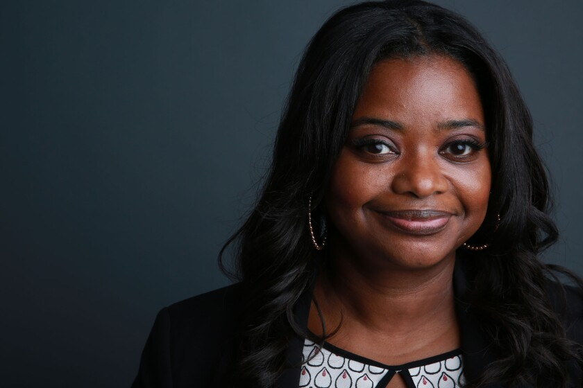 "Academy Award-winning actress Octavia Spencer stars in the new Fox series ""Red Band Society."""