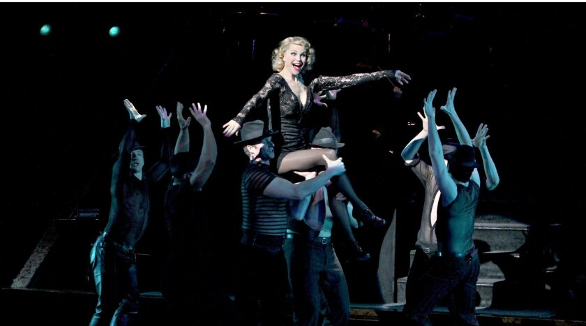 """Christie Brinkley in """"Chicago."""""""