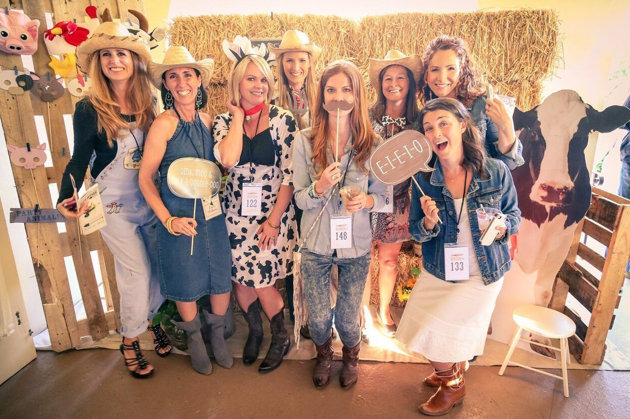 Vanessa Glenister, Dana Williams, Jessica Clark, Kelly Griffiths, Megan Jones, Victoria Pearce, Karin Lee and Jamie Flynn