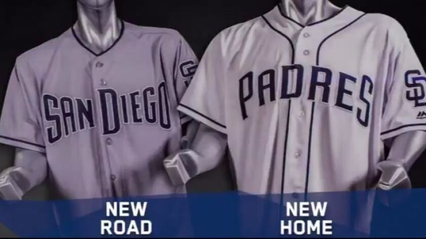 The Padres took to social media on Tuesday to release their 2017 uniforms.