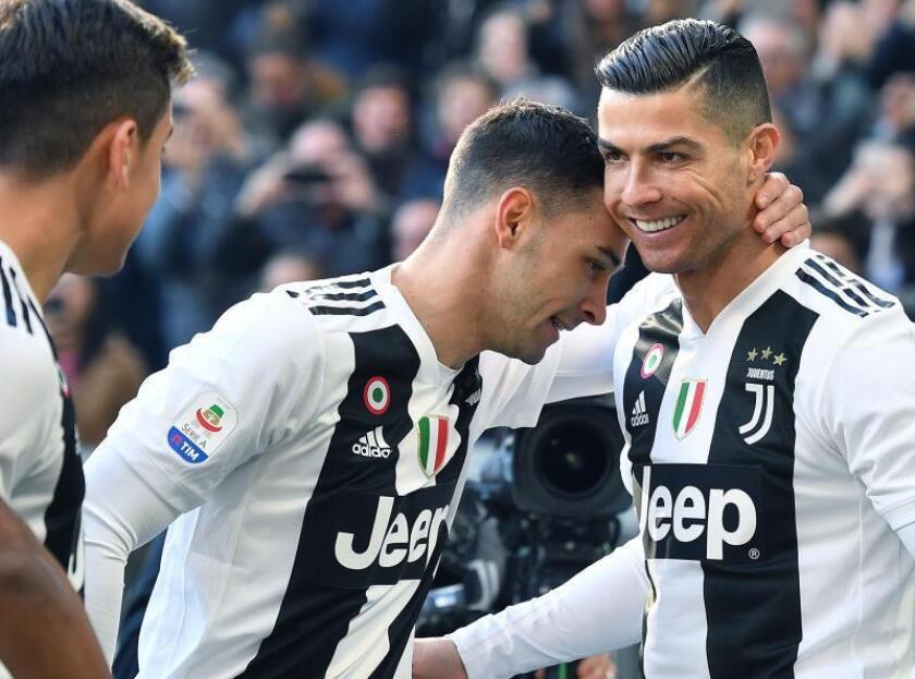 El Juventus ganó 2-1 este sábado al Sampdoria con doblete del portugués Cristiano Ronaldo. EFE/Archivo
